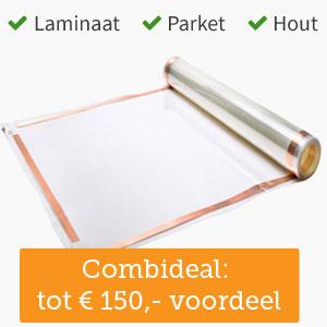 Vloerverwarming voor laminaat