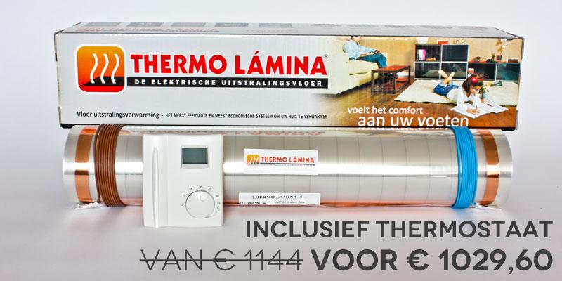 Thermolamina rol 22m kortingsactie