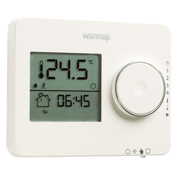 Tempo digitale klokthermostaat van Warmup