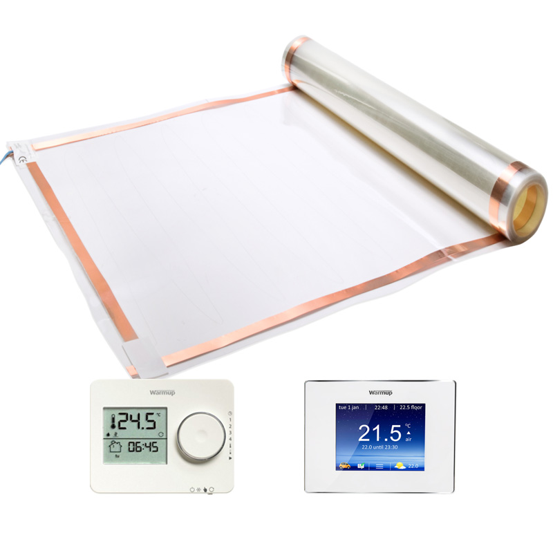 Elektrische vloerverwarming folie Thermo Lámina 120watt tempo 4iE