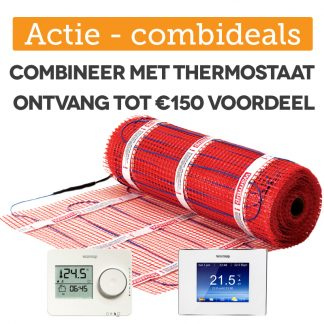 elektrische vloerverwarming stickymat 150watt